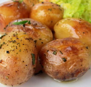 roast baby potatoes by laura pazzaglia