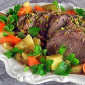 beef roast with potatoes and carrots 1 pot meal by laura pazzaglia