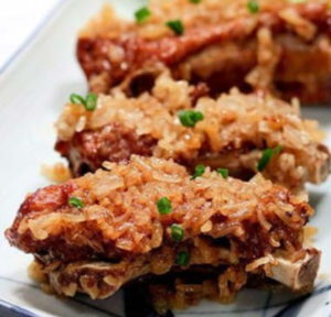 steamed ribs with glutinous rice by maomao mom