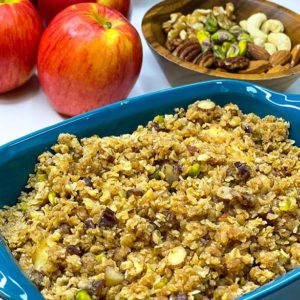 Apple Crumble by nutritionist Suzan Terzian