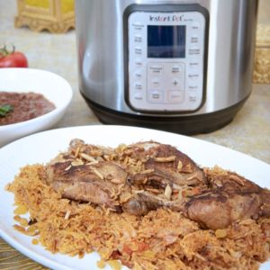 Chicken Kabsa Instant Pot