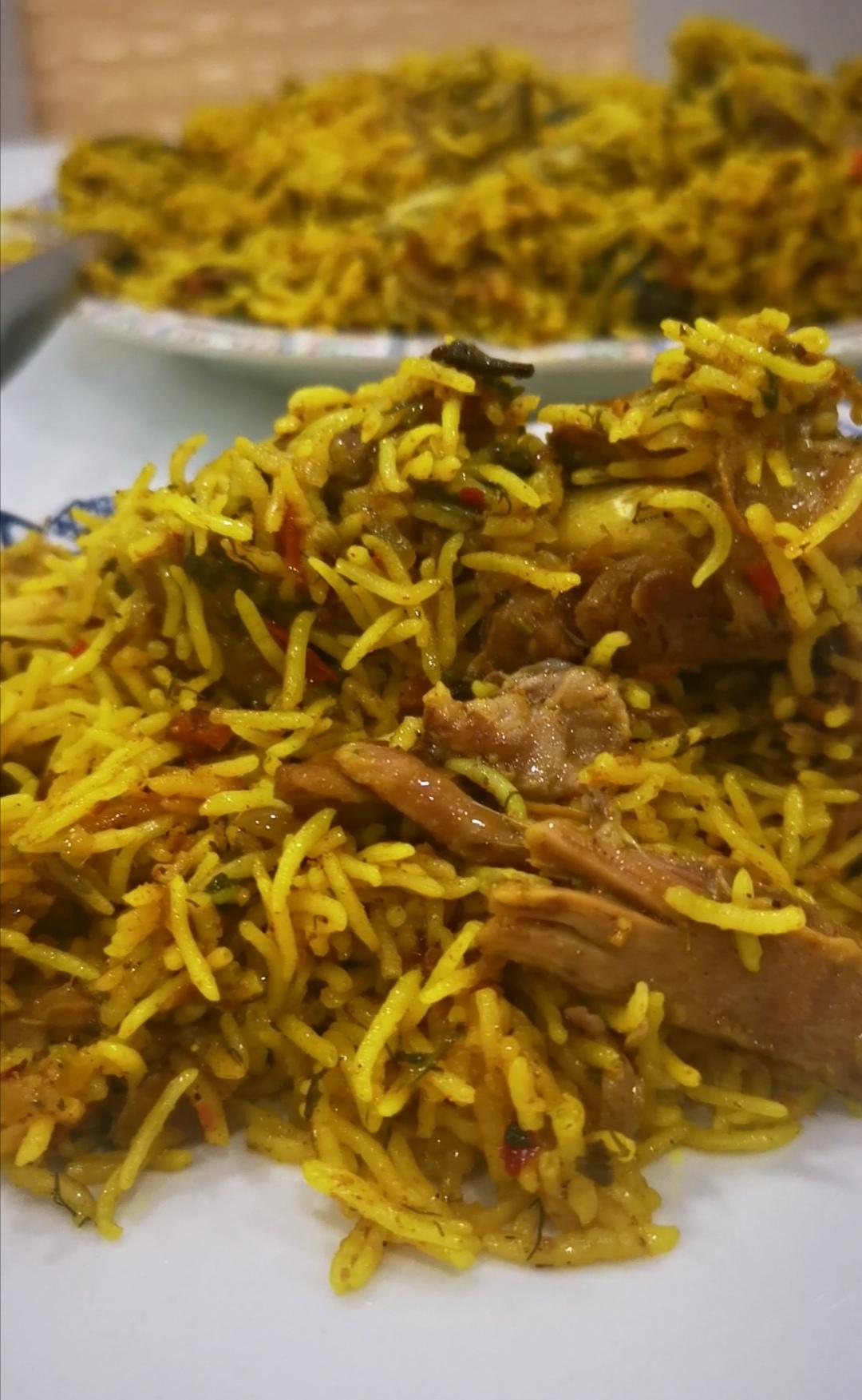 Bahraini Meat Machboos by Chef Fatima Jamal