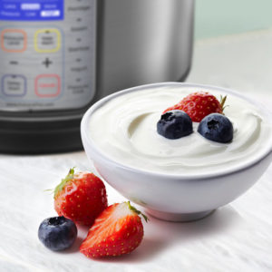 Rich Yogurt by Rebecca Potou with Instant Pot